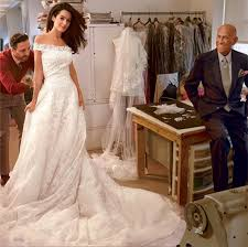 pre owned wedding dresses get amal alamuddin s wedding dress style preowned wedding dresses