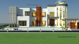 Architectural Design Of 1 Kanal House 3d Front Elevation Com 2 Kanal House Design
