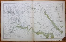 Sterling Virginia Map by Antique Maps And Charts U2013 Original Vintage Rare Historical