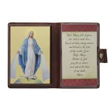 hail mary travel icon u0026 prayer the catholic company