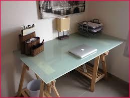 bureau plateau en verre frais photos de tréteaux pour bureau 2047 bureau idées