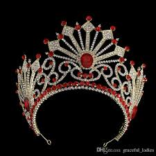tiaras uk 5 vintage oversize king crowns rhinestone bridal tiara