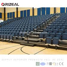 Cushioned Bleacher Seats With Backs Retractable Seating Retractable Seating Suppliers And
