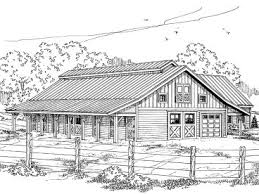 barn plan outbuilding plan or barn plan with living quarters