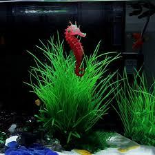 onnpnnq artificial aquarium sea hippocus ornament fish