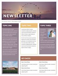 news letter template templatesz234