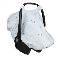 couverture siège auto bébé couvre siège d auto en mousseline de bébé au lait