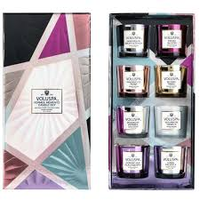 gift sets voluspa vermeil memento 8 candle gift set