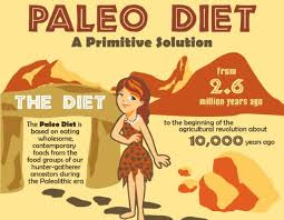 a guide to paleo diet grocery list and menu ideas infographic