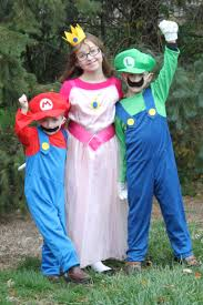 Mario Princess Peach Halloween Costume Super Mario Costumes Pin