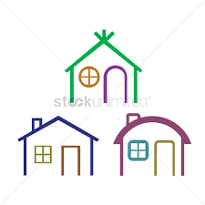 types of houses various types of houses vector image 1238109 stockunlimited