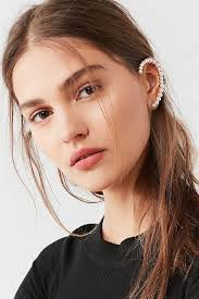 ear cuff pearl statement ear cuff outfitters