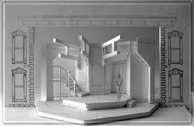 sherlock s last set design by richard finkelstein stage