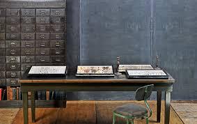 Industrial Work Table by Vintage Industrial Krag Imperial Work Table