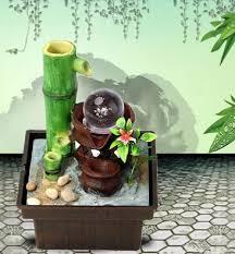 desktop water water feature bamboo lucky feng shui