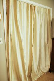 closet curtains take two homemade ginger