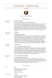 Daycare Job Description Resume Cheap Essay Editing For Hire For University College Admissions