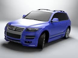 volkswagen touareg 2013 volkswagen touareg r50 3d asset cgtrader