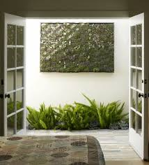 Vertical Garden Indoor - cool diy green living wall projects for your home