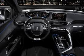 peugeot 508 interior 2016 peugeot aims high with new advanced 3008 crossover forcegt com