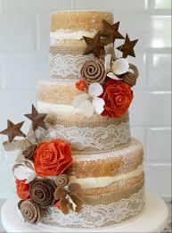 lace wedding cakes burlap and lace wedding cake joyfully home