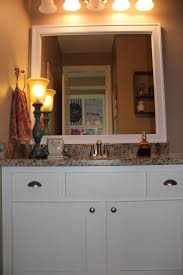 Framing Existing Bathroom Mirrors by Bathroom Cabinets Rustic Vanity Lighting Fixtures And Frames For