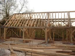 any one built a pole barn with an earth floor
