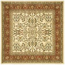 6 Square Area Rug Safavieh Lyndhurst Collection Lnh214r Ivory And Rust Square Area
