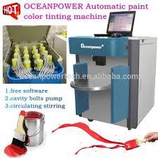 computerized paint color tinting machine paint colorant dispenser