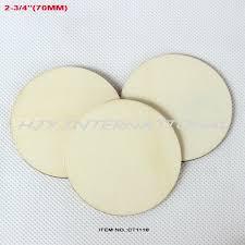 wood disk 40pcs lot 70mm unfinished large circle wood disk cutouts