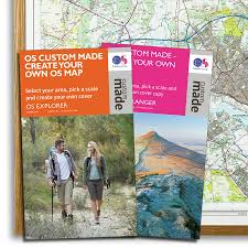 Make Your Own Map Custom Made Personalised Os Map Ordnance Survey Shop