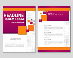 free flyer designs free flyer template design with checkered violet background