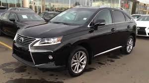 lexus rx 350 hybrid new black on saddle tan 2015 lexus rx 350 awd touring package walk