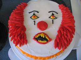 scary clown cake pennywise piped dreams pinterest clown