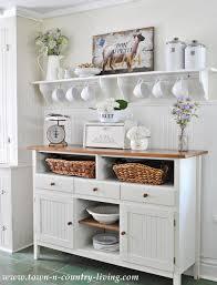 farmhouse kitchen furniture farmhouse kitchen decor get the look town country living