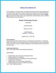 Ballet Resume Dance Resume Ballet Dancer Resume Sample Are Occasions Of Resumes