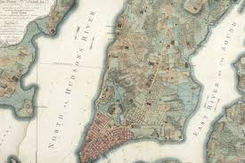 Map Of New York And Manhattan by Five Historic Maps Of Manhattan U0027s Morphing Borders Curbed Ny