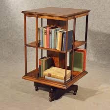Rotating Bookcases Antique Oak Revolving Bookcase Library Stand Antiques Atlas