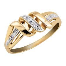 jewellery rings images images Gold plated ring by kiara kir0107 silver rings shopcj jpg