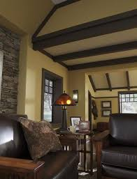 Craftsman Style Home Interiors by 25 Best Craftsman Living Rooms Ideas On Pinterest Craftsman