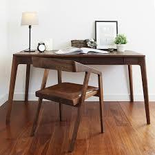 bureau retro amerikaanse massief houten bureau retro minimalistische desktop
