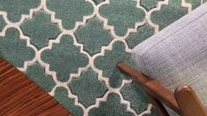 in house designed duck egg trellis rug youtube
