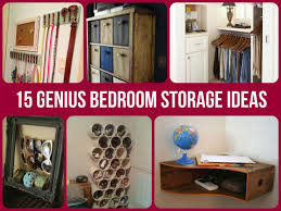 Ideas For Organizing A Small Bedroom Including Exciting - Clever storage ideas bedroom