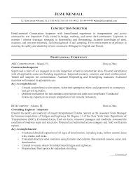 quality inspector resume quality control inspector resume