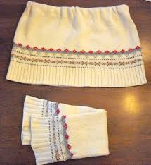 meet me on the bright side how to make a sweater skirt no sew