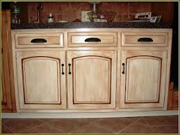 Painting Kitchen Cabinets White Without Sanding by Distressed Kitchen Cabinets In White Decorative Furniture