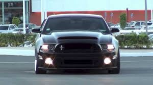 2011 Black Mustang 2011 Mustang Gt Borla S Type Exhaust Refreshed Youtube