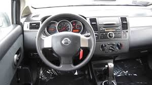 nissan tiida interior 2009 2011 nissan versa gray stock b2149 interior youtube