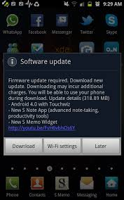 new update for android samsung quietly begins rolling out ics to unlocked galaxy notes