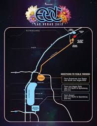 Map Of The Las Vegas Strip Hotels 2015 by Edc Protip Shuttles And Others Ways To Get To The Las Vegas Motor